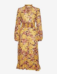 280267d9 Semi Couture A-Line Midi Dress - 789 WILD SCARLET. 45%. by Ti Mo