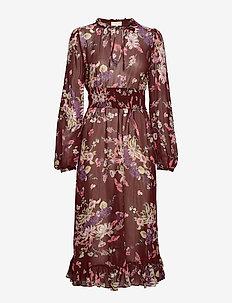 Semi Couture A-Line Midi Dress - 790 VIOLA