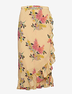 Semi Couture Wrap Skirt - LILACS
