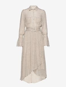 Delicate Shirt Dress - shirt dresses - frost