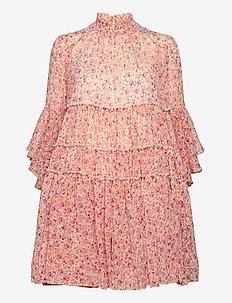 Chiffon Shift Dress - korte kjoler - wild flowers