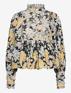 Broderie Anglaise Blouse - langermede bluser - blooming