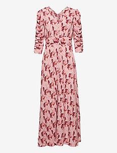 Pre Spring Rouch Dress - maxiklänningar - blush