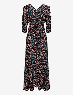 Pre Spring Rouch Dress - maxi kjoler - butterfly