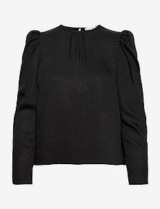 Everyday Blouse - långärmade blusar - black