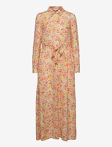 Stripes Shirt Dress - zomerjurken - faded flowers