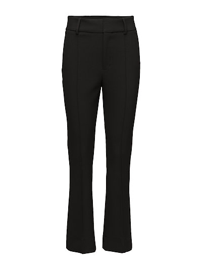 Tailored Flared Trousers - 099 BLACK