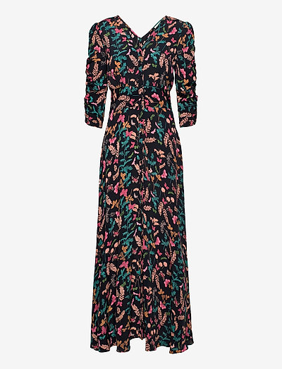 Pre Spring Rouch Dress - evening dresses - butterfly