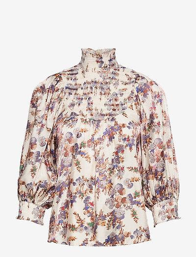 Smocking Top - langærmede bluser - flora