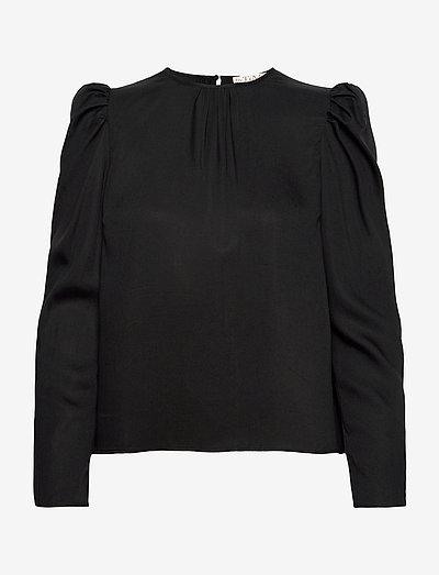 Everyday Blouse - blouses met lange mouwen - black