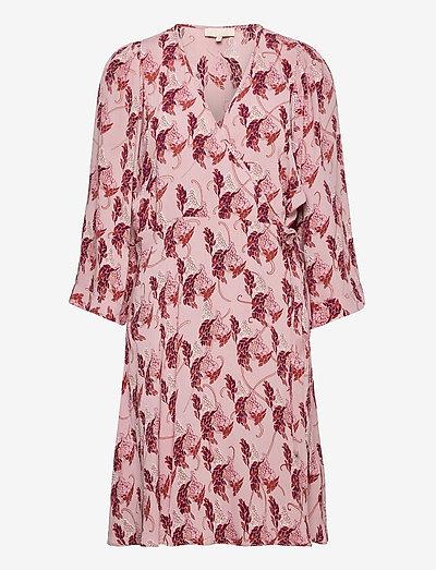 Pre Spring Kimono Dress - zomerjurken - blush