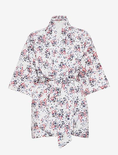 Padded Jacket - quiltede jakker - rose bouquet