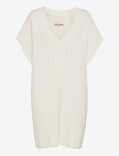 Cotton Knit Mini Dress - zomerjurken - vintage