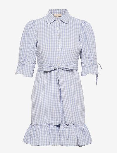 Checks Kitchen Dress - zomerjurken - blue checks