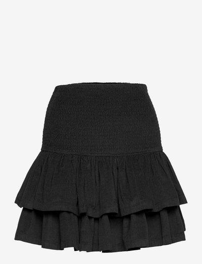 Baby Cord Skirt - kort skjørt - black