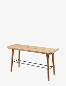 Scala Bench, small, olieret egetræ - stole & skamler - oiled