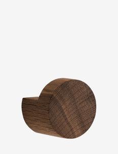 Wood Knot medium - hooks & knobs - smoked
