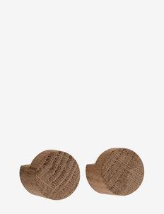 Wood Knot small - hooks & knobs - oiled