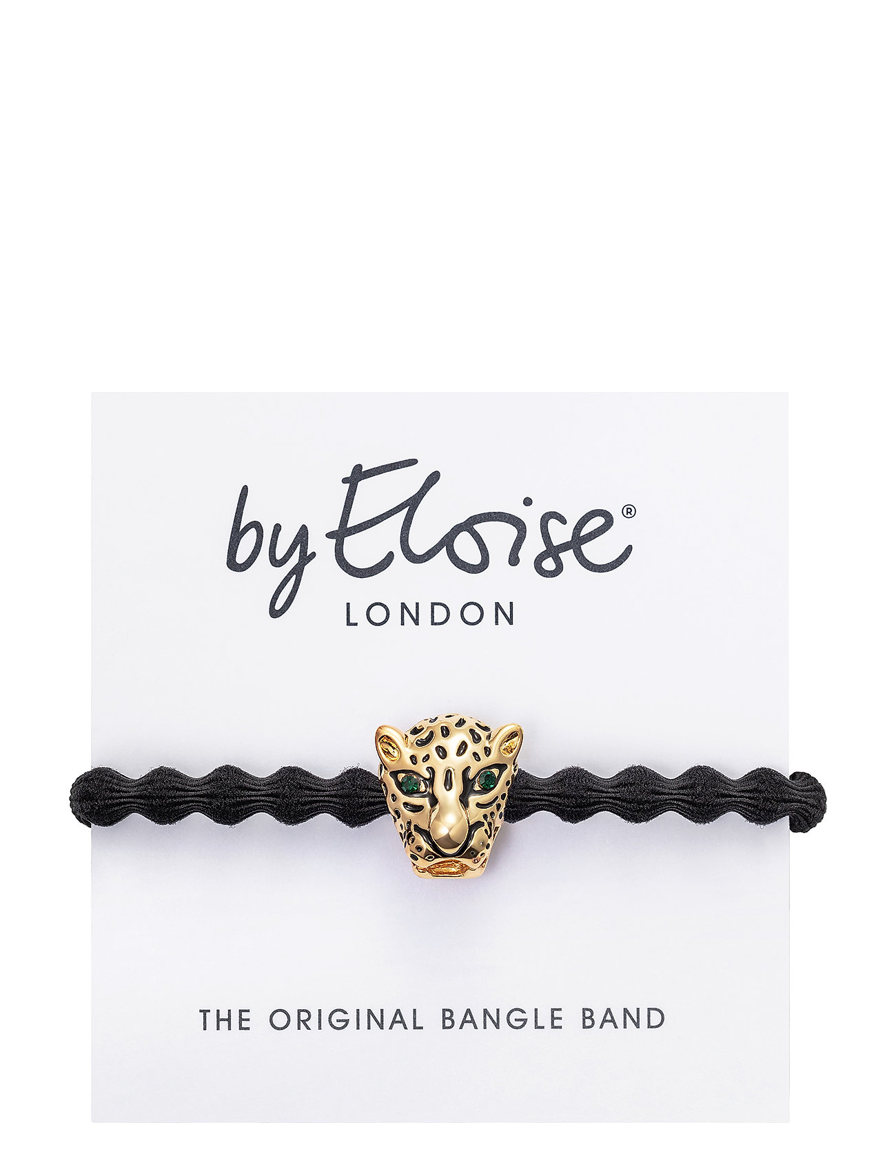 Gold Jaguar On Black - ByEloise