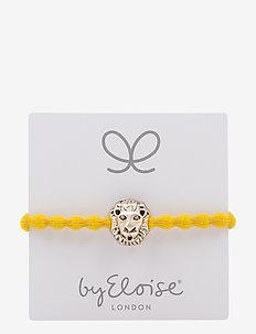 Gold Lion on Mustard Yellow - MUSTARD YELLOW