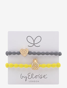 Gold Heart/Storm Grey and Bling Pineapple/Sunshine Yellow - STORM GREY/SUNSHINE YELLOW