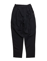 Highwaist loose pants - DARK NAVY