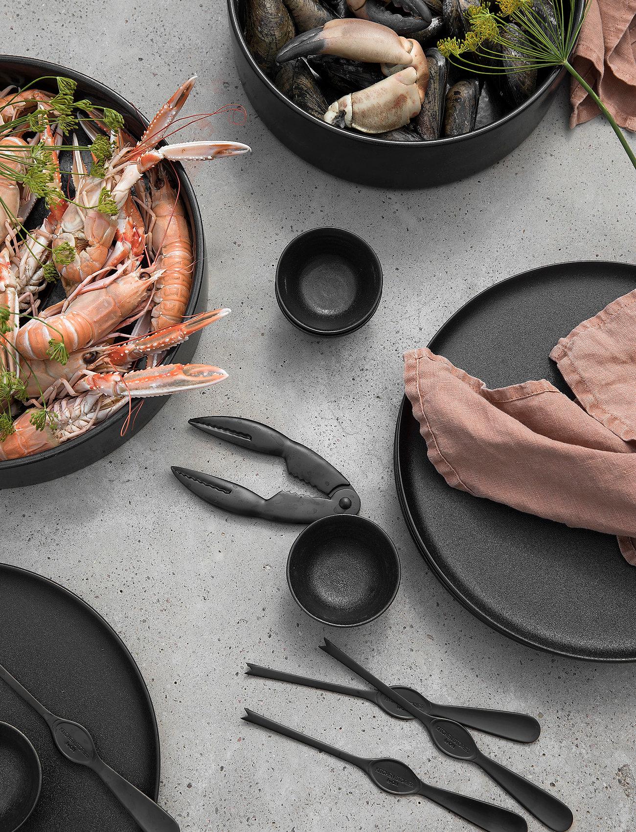 ByOn - Shellfish set Mollusco - bestikksett sjømat - black - 1