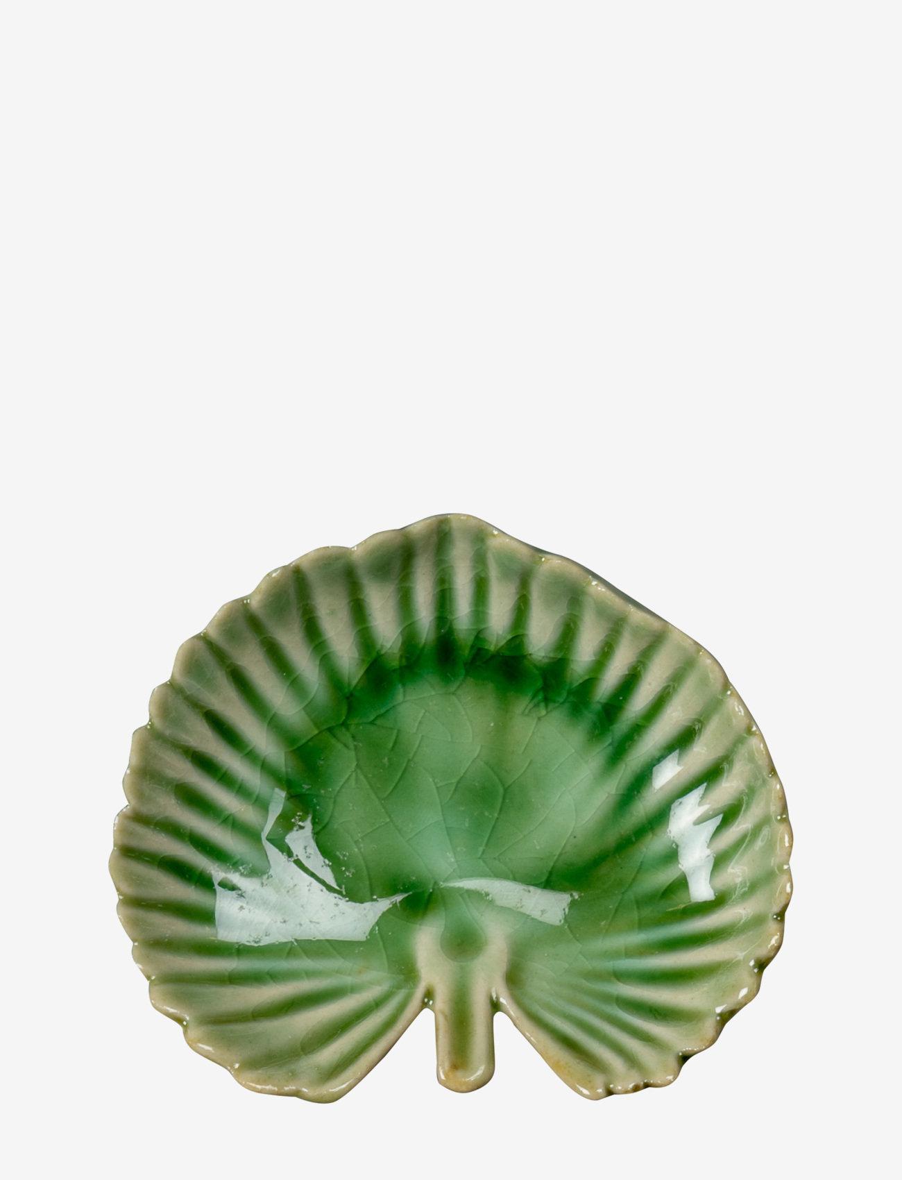 ByOn - Plate Palmetto S - tarjoilukulhot - green - 0