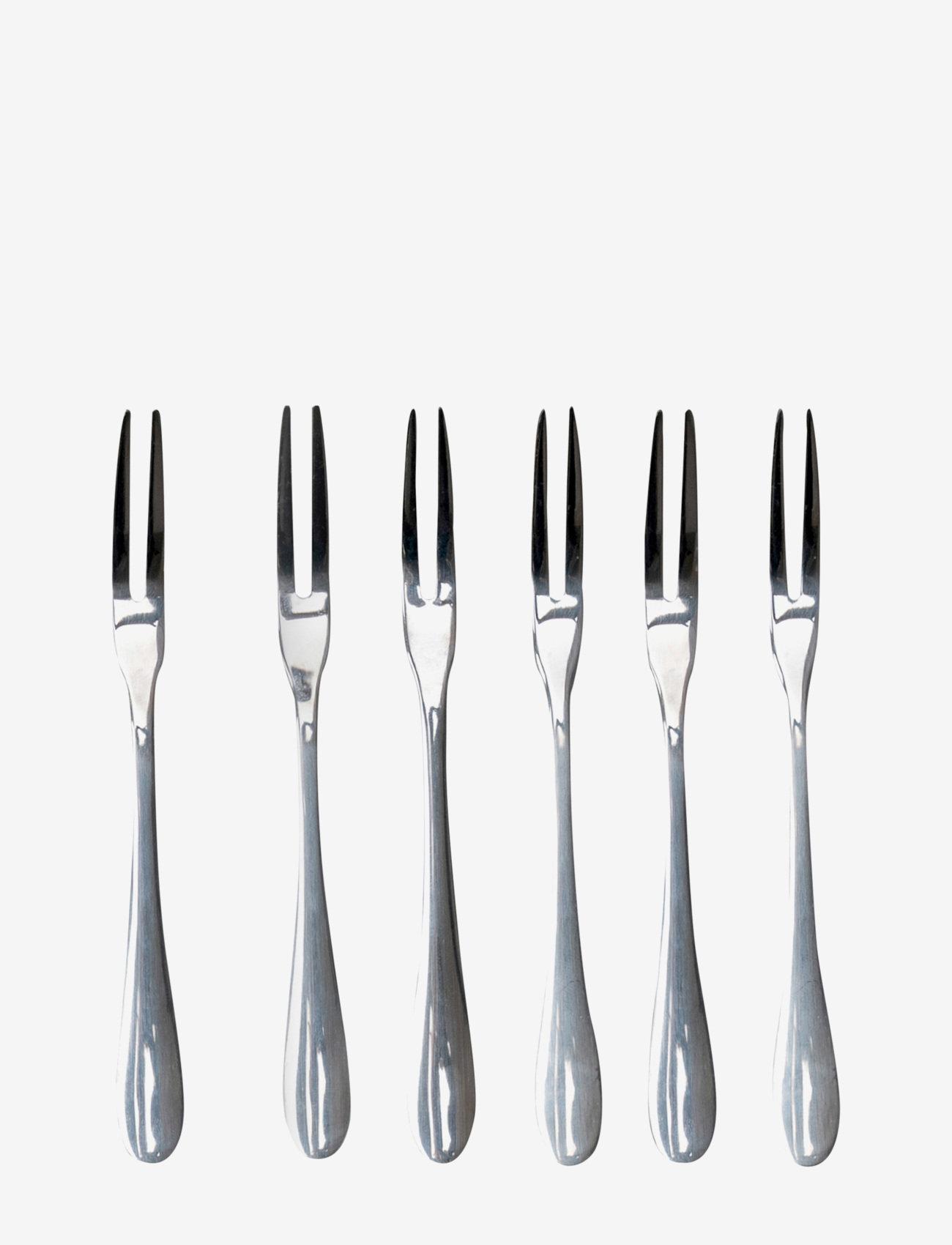 ByOn - Fork set Fiesta - gafler - silver - 0