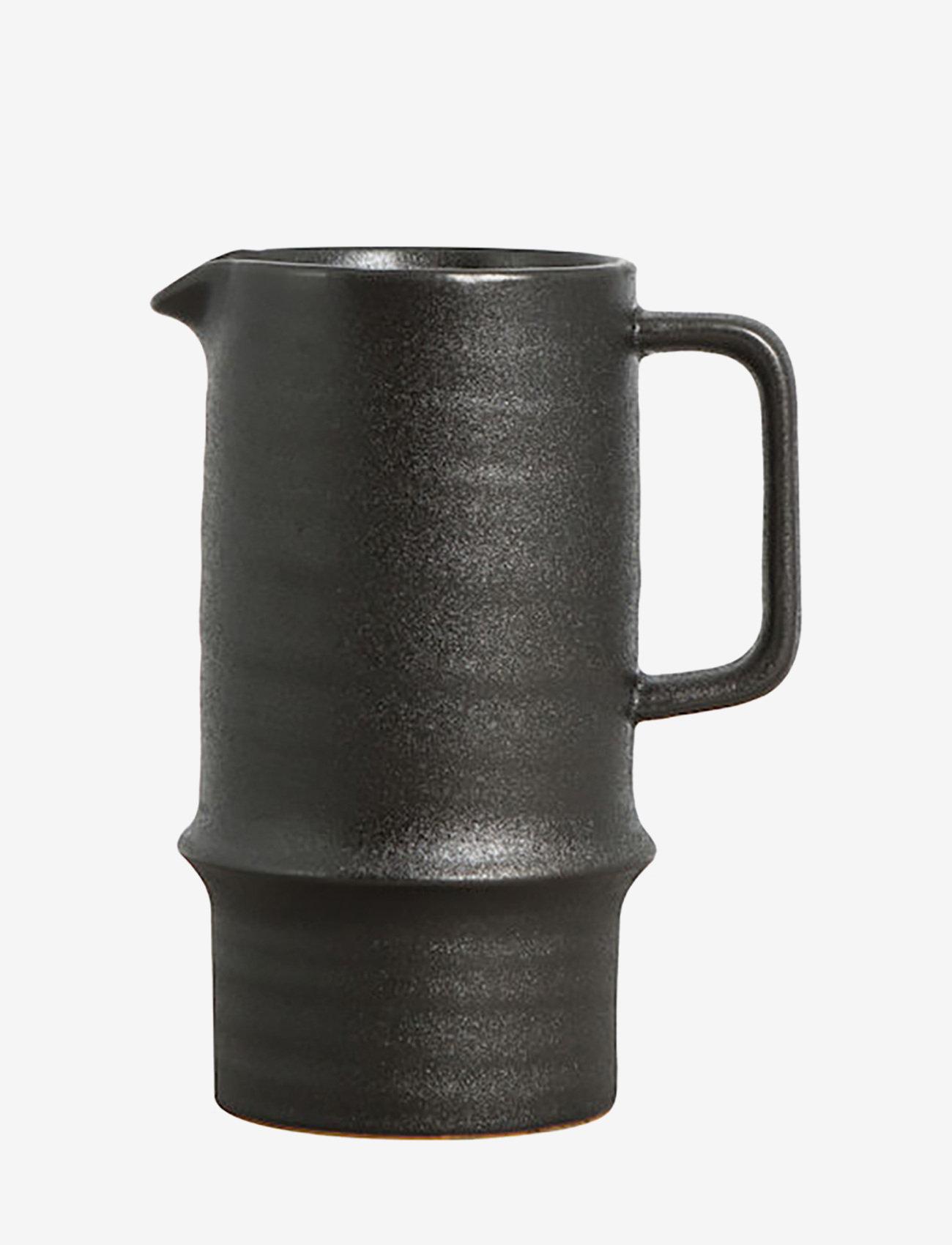 ByOn - Jug Blackrrot - vesikannut ja -karahvit - raw black - 0