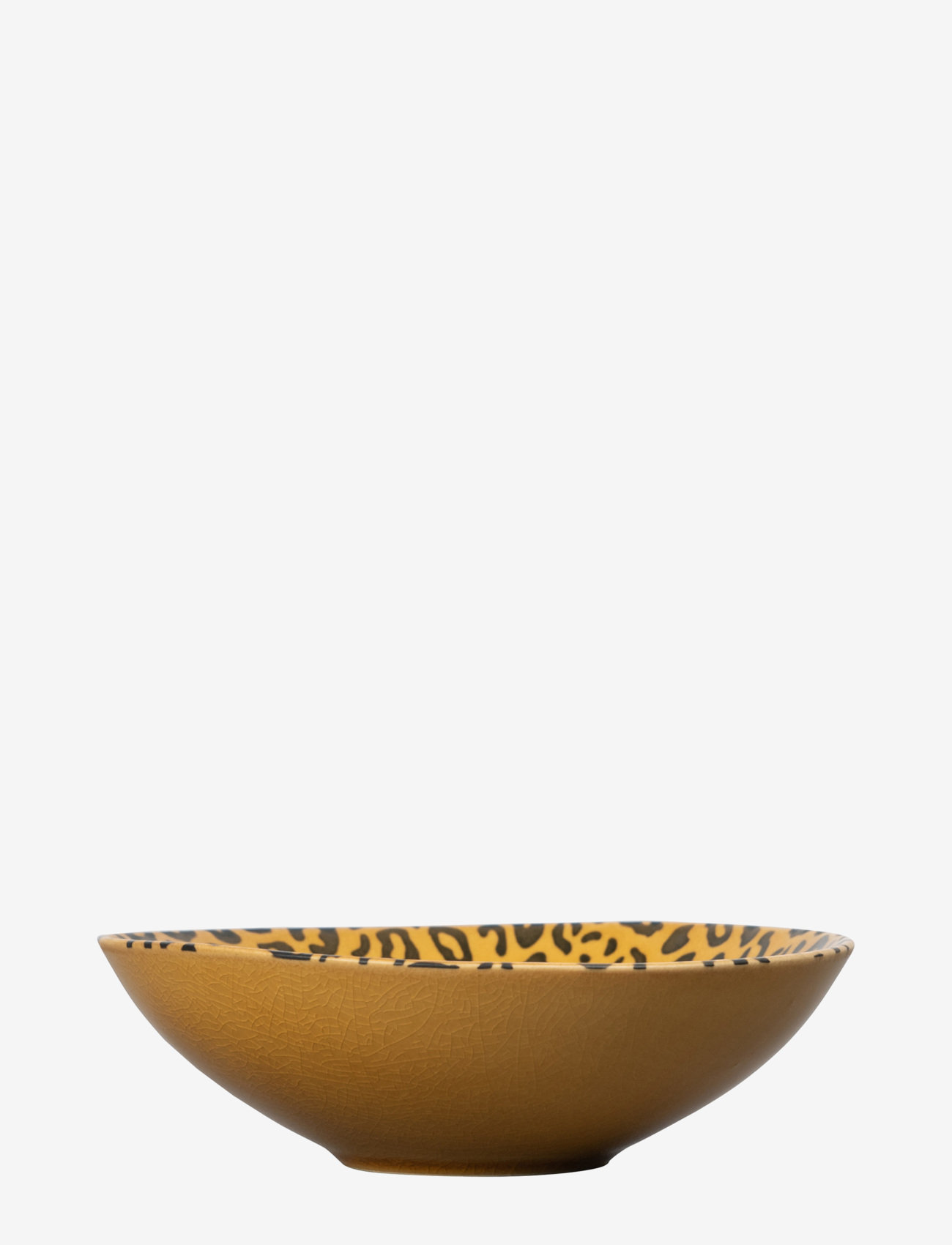 ByOn - Flat bowl Amaya - hedelmäkulhot - brown - 0
