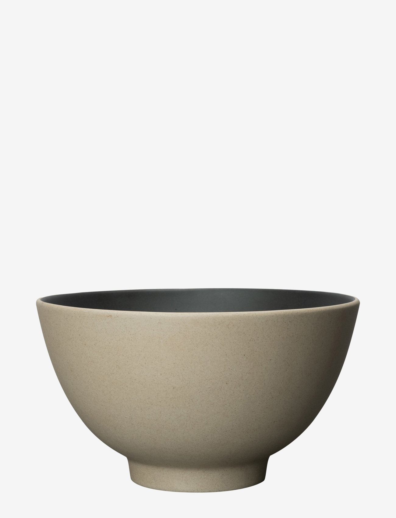 ByOn - Serving bowl Fumiko - serveringsskåler - beige/ black - 0