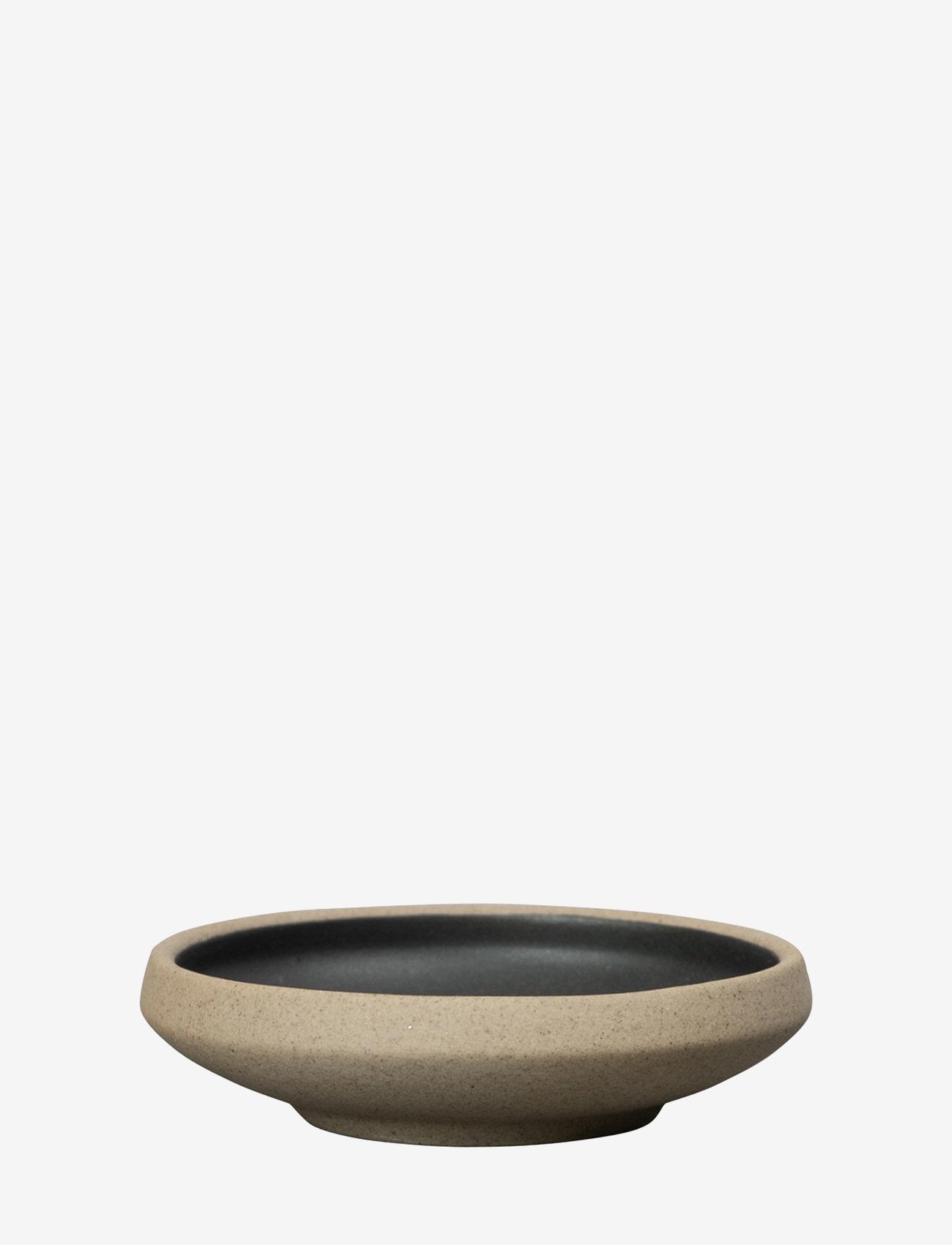 ByOn - Small bowl Fumiko - serveringsfat - beige/black - 0