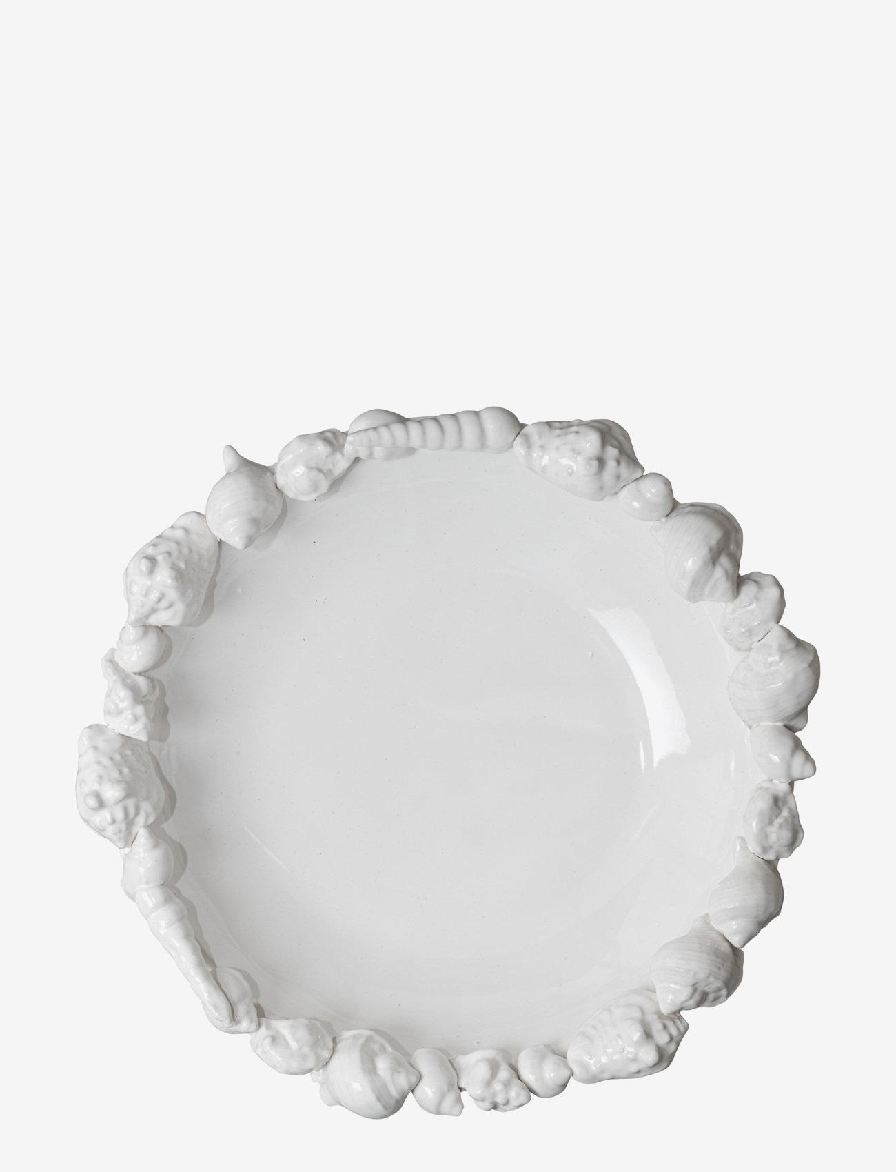 ByOn - Plate Shell - serveringsfat - white - 0