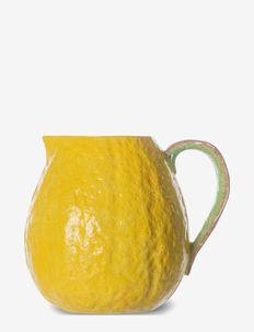 Jug Lemon - vesikannut ja -karahvit - yellow