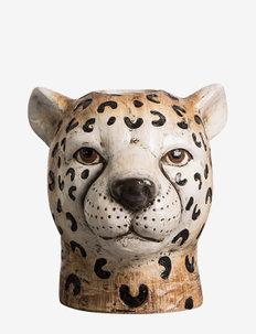 Vase Cheetah L - interiör - brown
