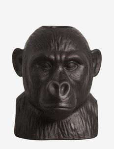 Vase Gorilla - interiör - black