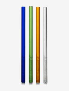 Straws Boom 4pcs/pack - drink & barutstyr - multi