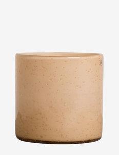 Vase/Candle holder Calore M - fyrfadsstager - peach