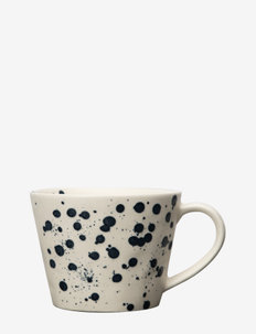 Mug Dottie - kahvikupit - black/white