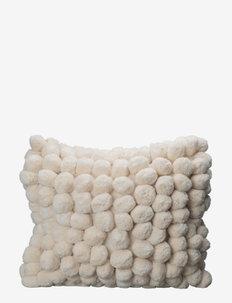 Pillow Pom Pom - puder - off white