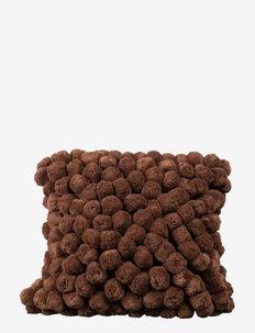 Pillow Pom Pom - køb efter pris - brown