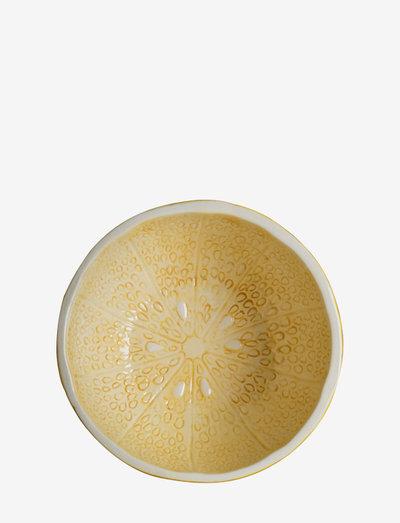 Bowl Lemon - aamiaiskulhot - yellow