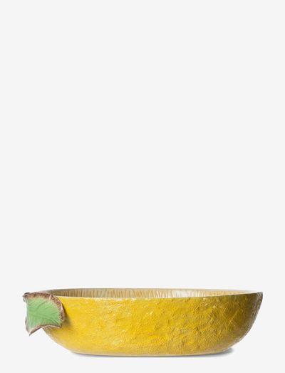 Bowl Lemon - tarjoilukulhot - yellow