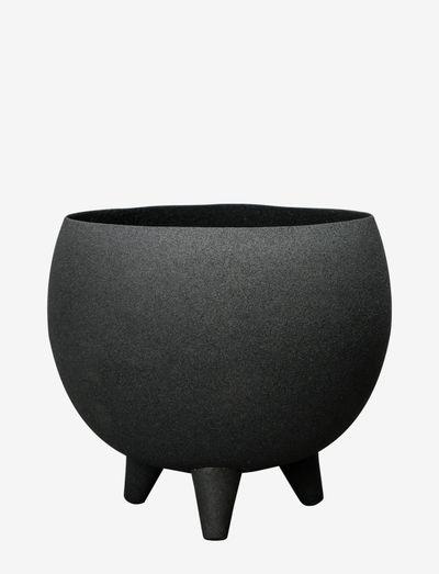 Pot Structure - blomsterpotter & krukker - black