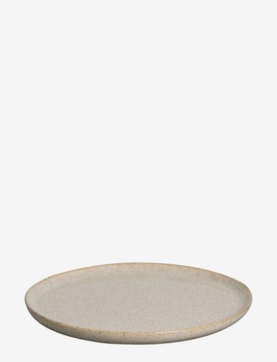 Small Plate Asparagus - leipälautaset - beige