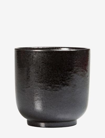 Cup Iris - kaffekopper - black