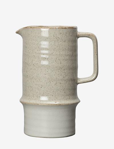 Jug Asparagus - vesikannut ja -karahvit - beige/matt white