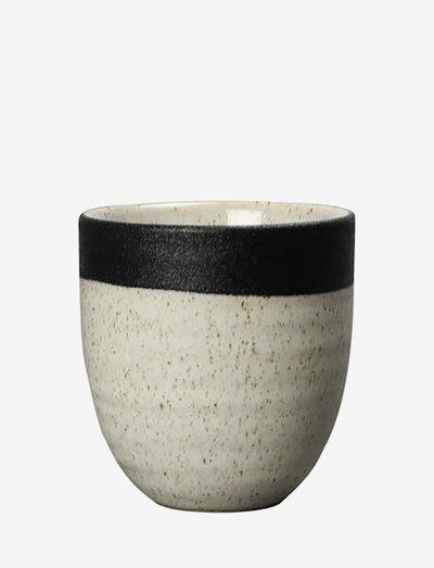 Cup Aspraw - kaffekopper - black/beige