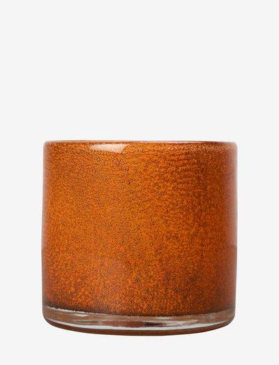 Candle holder Calore XS - lyslykter - orange